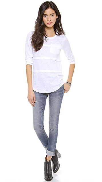 Marc by Marc Jacobs Carmen Jersey Top