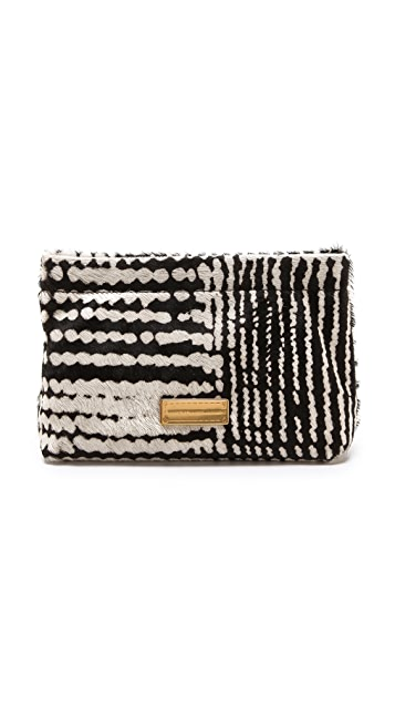 Marc by Marc Jacobs Can't Clutch This Haircalf Clutch