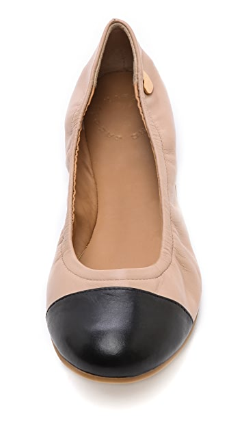 Marc by Marc Jacobs Two Tone Ballet Flats