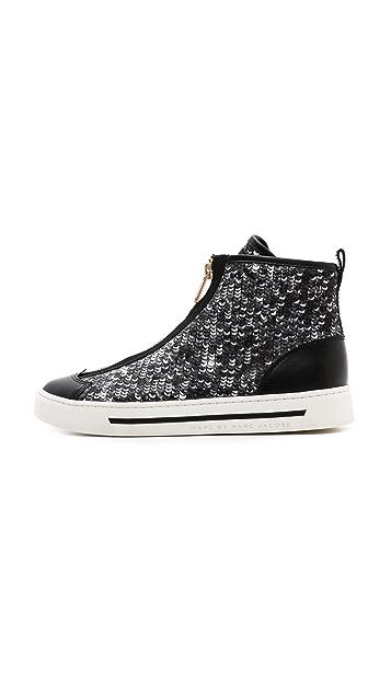 Marc by Marc Jacobs Sequin Zip Sneakers