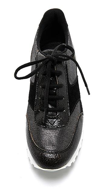 Marc by Marc Jacobs Metallic Neoprene Sneakers