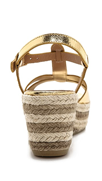 Marc by Marc Jacobs Metallic Espadrille Sandals