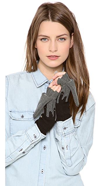 Marc by Marc Jacobs Idle Wild Pop Top Mittens