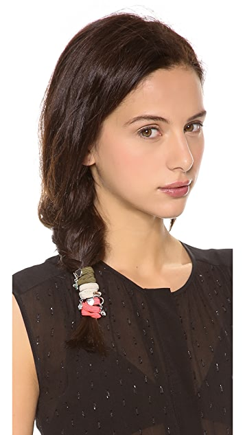 Marc by Marc Jacobs Tiny Toggles Pony Ties