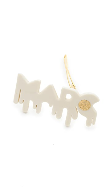 Marc by Marc Jacobs Drippy Marc Hair Clip