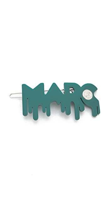 Marc by Marc Jacobs Drippy Marc Hairclip