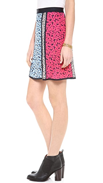 Marc by Marc Jacobs Bianca Print CDC Skirt