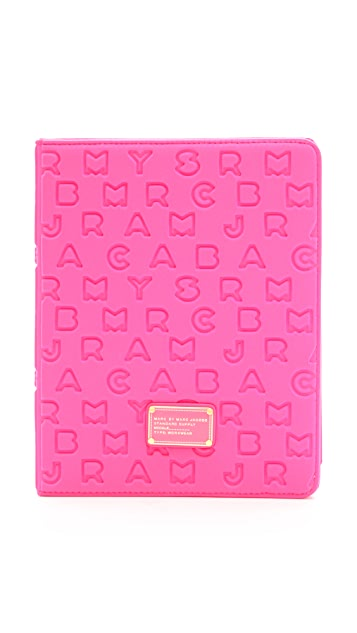 d06b2b1d36 Marc by Marc Jacobs Dreamy Logo Neoprene Tablet Book Case | SHOPBOP