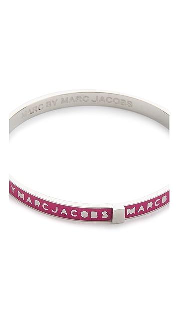 Marc by Marc Jacobs Skinny Logo Bangle Bracelet