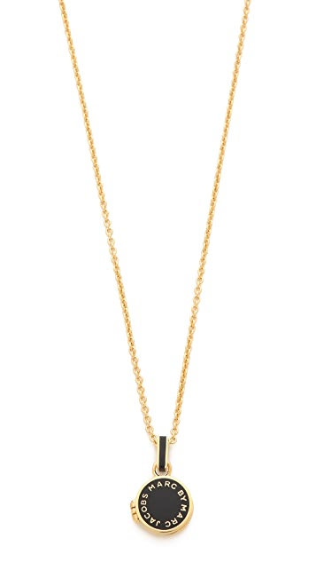 Marc by Marc Jacobs Locket Necklace