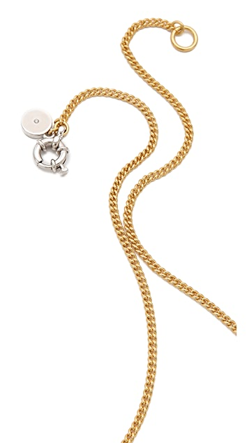 Marc by Marc Jacobs Embellished Pendant Necklace