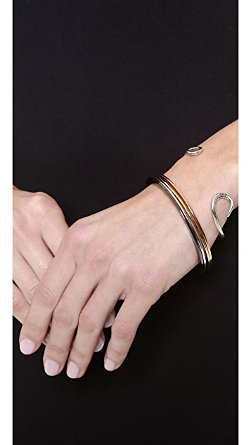 Marc by Marc Jacobs Set of Disc Bangle Bracelets