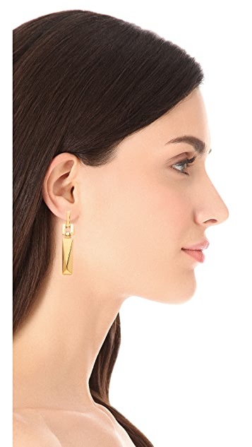 Marc by Marc Jacobs Link Drop Earrings