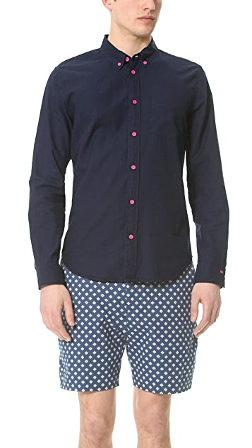 Marc by Marc Jacobs Indigo Oxford Shirt