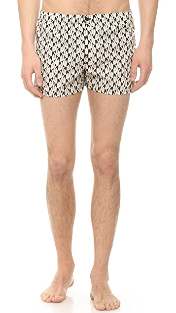 Marc by Marc Jacobs Bellflower Print Boxers