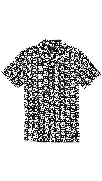 Marc by Marc Jacobs Tree Print Shirt