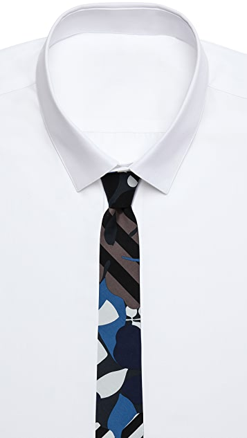 Marc by Marc Jacobs Laguna Floral Shirting Tie