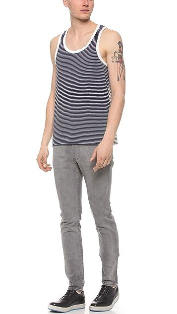 Marc by Marc Jacobs Mariposa Melange Stripe Tank