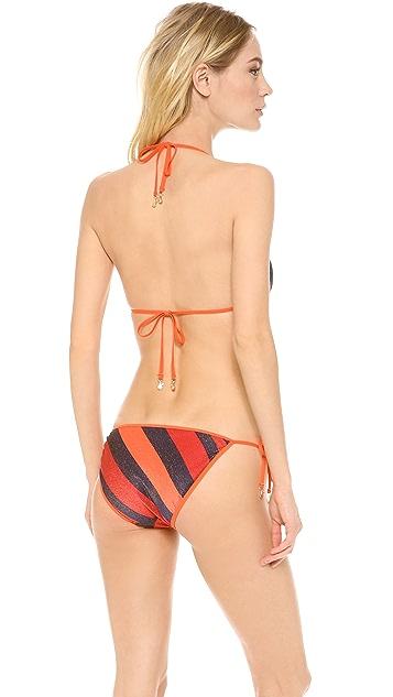Marc by Marc Jacobs Cory Stripe Reversible Bikini Top