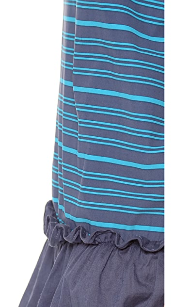 Marc by Marc Jacobs Tara Stripe Cover Up Dress