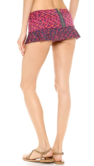 Marc by Marc Jacobs Aurora Skirted Bikini Bottoms