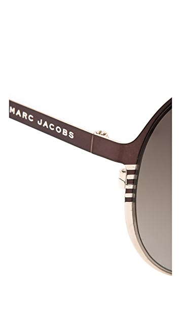 Marc by Marc Jacobs Classic Aviator Sunglasses
