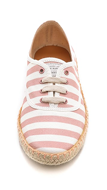 Marc by Marc Jacobs All Stripes Espadrille Sneakers