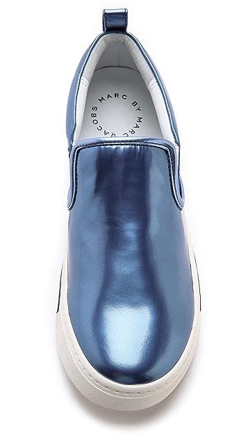 Marc by Marc Jacobs Cute Kicks Metallic Sneakers