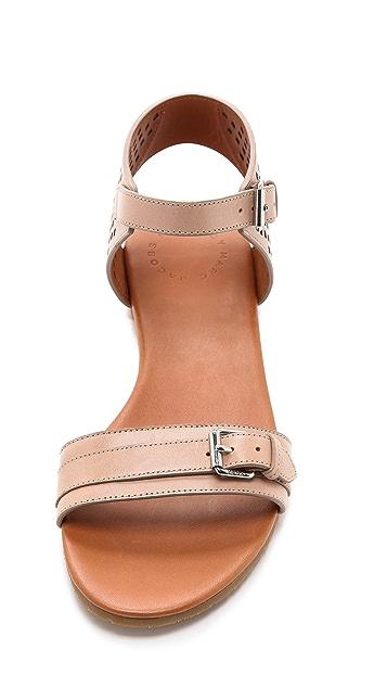 Marc by Marc Jacobs Little Diamonds Flat Sandals
