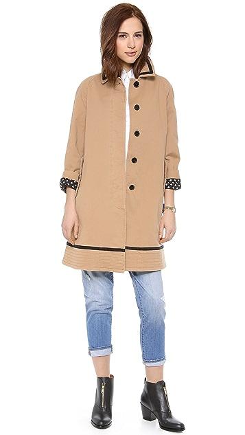 Marc by Marc Jacobs Zeta Twill Coat