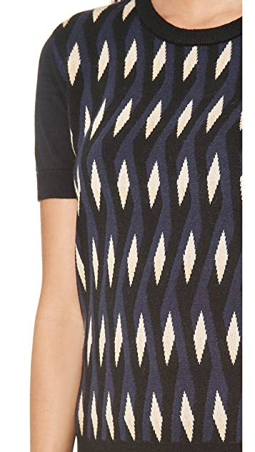Marc by Marc Jacobs Diamond Flame Sweater