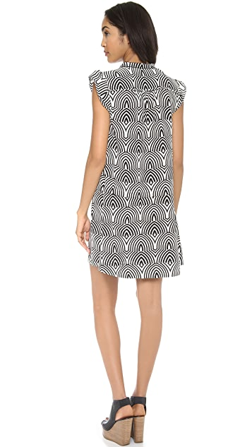 Marc by Marc Jacobs Gamma Print Dress