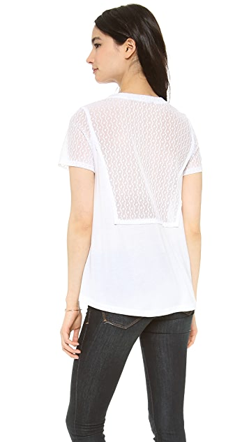 Marc by Marc Jacobs Addy Lace Blouse