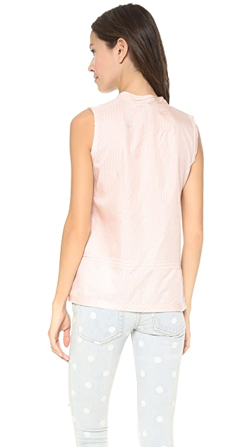 Marc by Marc Jacobs Sleeveless Stripe Shirting