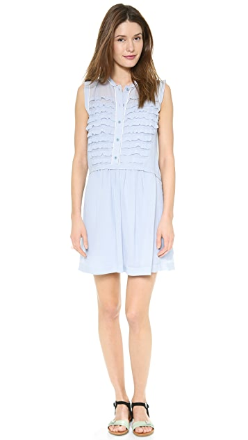 Marc by Marc Jacobs Alhena Light Weight Crinkle Dress