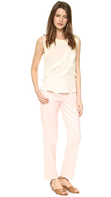 Marc by Marc Jacobs Cotton Linen Twill Pants