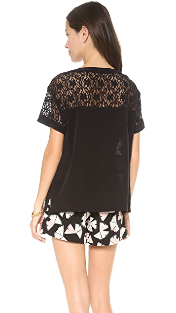 Marc by Marc Jacobs Leila Lace Blouse