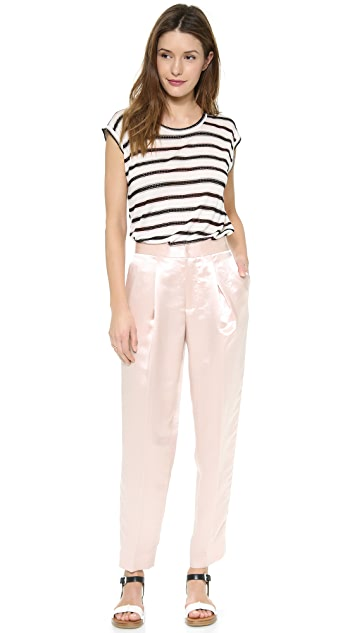 Marc by Marc Jacobs Miriam Mesh Stripe Tee