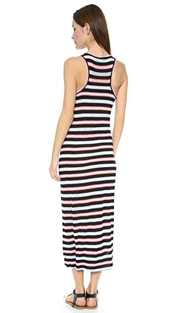 Marc by Marc Jacobs Miriam Mesh Stripe Dress