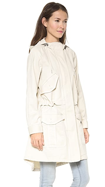 Marc by Marc Jacobs Zeta Twill Coat