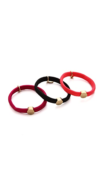 Marc by Marc Jacobs Ladybug Pony Hair Ties