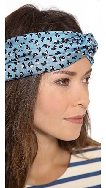 Marc by Marc Jacobs Mini Pinwheel Head Scarf