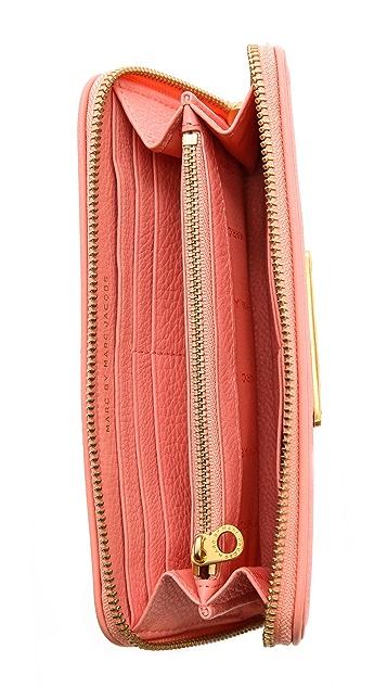 Marc by Marc Jacobs Too Hot to Handle Slim Zip Wallet