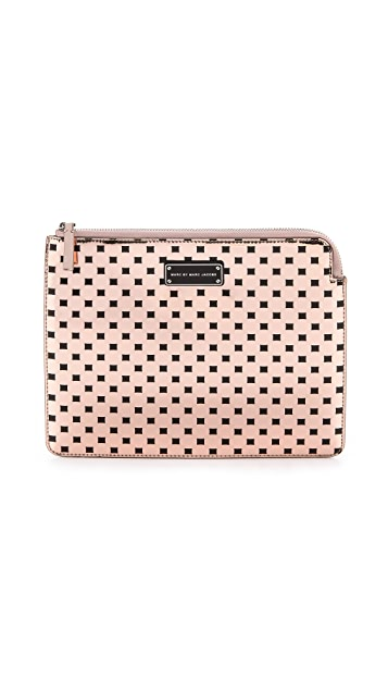 Marc by Marc Jacobs Techno Block Print Tablet Zip Case