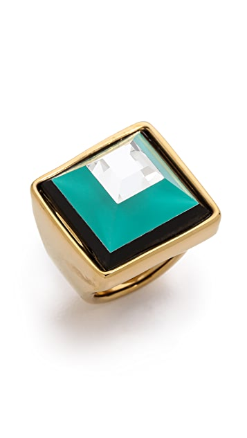 Marc by Marc Jacobs Stacked Glass Ring