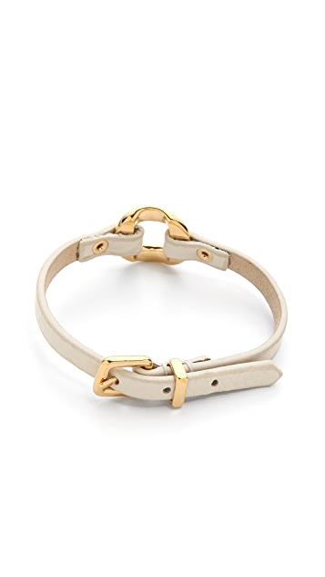 Marc by Marc Jacobs Link Leather Bracelet