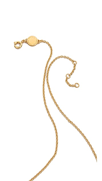 Marc by Marc Jacobs Balancing Bolts Necklace