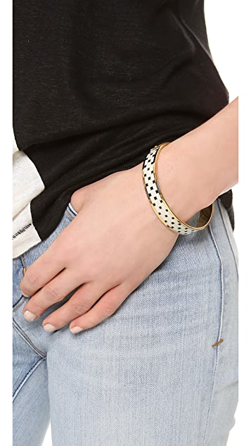 Marc by Marc Jacobs Block Print Bangle Bracelet