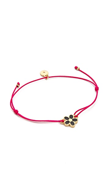 Marc by Marc Jacobs Enamel Daisy Friendship Bracelet