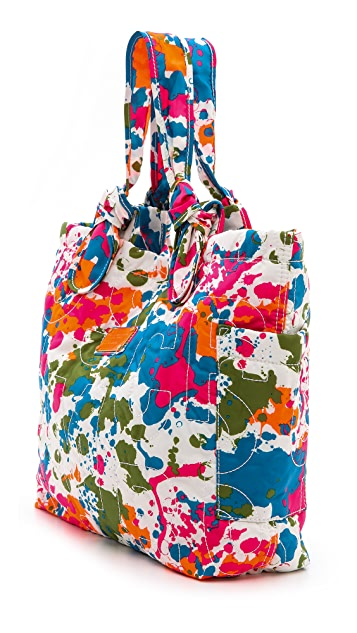 Marc by Marc Jacobs Pretty Nylon Paint Blob Medium Tate Tote